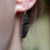 Ohrhänger «Strichleiter»